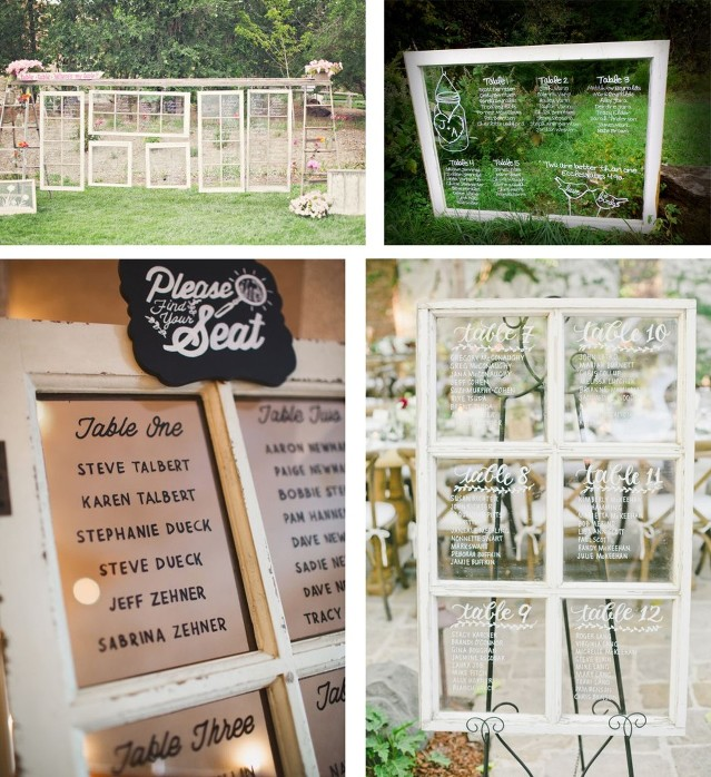 Tips: Seating Chart Displays » Vision in White Events – Nashville ...