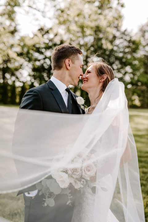 Nashville Wedding Bride and Groom