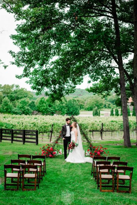 nashville elopement - arrington vineyards - nashville wedding planner